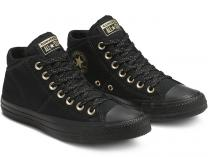 Женские кеды Converse Chuck Taylor All Star Madison 565228C Mid Black