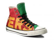 Кеды Converse Chuck Taylor All Star Hi Enamel Red/Yellow/Egret 159534C