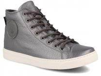 Женские кеды Forester Silver Hi Leather 132125-14
