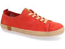 Текстильная обувь Las Espadrillas 10110-47 унисекс   (красный)