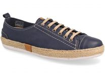 Текстильная обувь Las Espadrillas 10111-89 унисекс   (тёмно-синий)