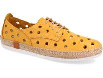 Текстильная обувь Las Espadrillas 10132-21 унисекс   (жёлтый)