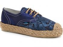 Женские кеды Las Espadrillas 558203 (синий)