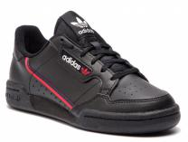 Кожаные кроссовки Adidas Continental 80 J F99786