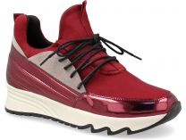 Женские кроссовки Forester Red Electric Sneakers High 4060-48