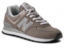 Серые кроссовки New Balance WL574EG