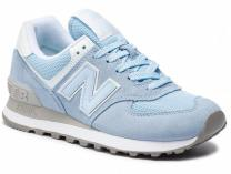 Womens running shoes New Balance WL574ESC Blue