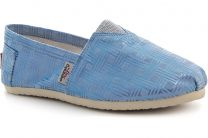 Летняя обувь Las Espadrillas 3015-71 Голубой перламутр