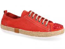 Женские полукеды Las Espadrillas 210111-47   (красный)