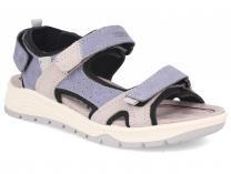 Шкіряні сандалі Forester Allroad 5301-2 Сьемная устілка