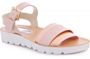 Womens sandals Las Espadrillas Dream Stretch D005-18 Molded rubber outsole