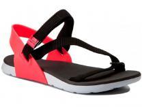 Женские сандалии Rider RX Sandal 82136-21428 Made in Brasil (коралловый/чёрный/красный)