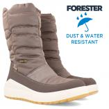 Damskie buty Forester Ergosoft 6334-18 Water-resistant