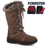 Womens boots ice Forester Attiba 81005-45 Made in Italy