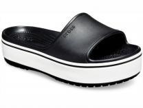 Женские шлепанцы Crocs Crocband Platform Slide 205631-066