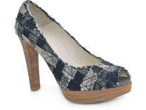 Женские туфли Stuart Weitzman 14491   (синий)