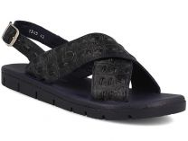 John Richardo men's sandals 2345-2 (dark blue)
