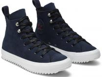 Кеди Converse Chuck Taylor All Star Hiker High Top 565237C Navy Nubuk