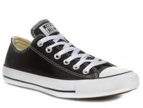 Кеди Converse Chuck Taylor All Star Leather Low Top Black 132174C