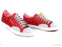 Мужские кеды Dockers 214160-206051  (красный)