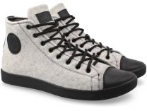 Forester Sneakers Sky Grey Felt 132125-32 Membran Insulated