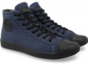 Forester Sneakers Navy Felt 132125-41