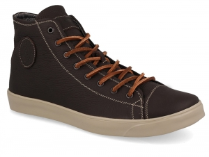 Sneakers Forester 132125-85 Dark brown, Genuine leather