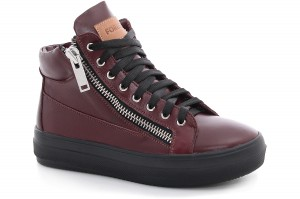 Women's sneakers Zipper Marsala 36421-160238-48