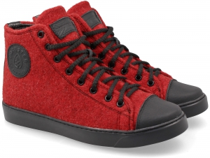 Sneakers Forester Red Felt 132125-47 Membran Insulated