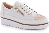 Туфли Las Espadrillas 03700-13 унисекс   (белый)