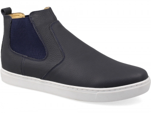 Sneakers Las Espadrillas 230022-89Ch Blue leather