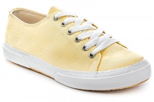 Canvas sneakers Las Espadrillas 4366-21SH Buttercup