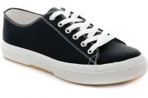 Sneakers Las Espadrillas 4366-27SH Black Cotton