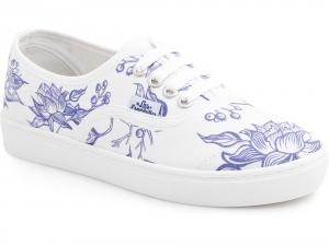 Sneakers Las Espadrillas Free Flowers 8214-577287 Designed by Ekaterina Lebed