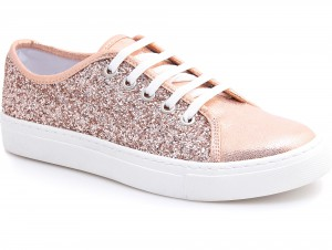 Sneakers Las Espadrillas Pudra Luminoso 6407-34