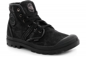 Кеди Palladium Pallabrouse 02477-069 Black Monochrome