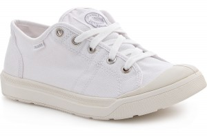 Sneakers Palladium Pallarue 93698-199 White Canvas
