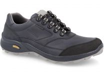 Forester Waterproof leather sneakers Trek 1553001-891 Dark navy
