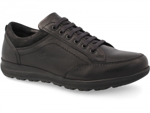Comfortable shoes Greyder 60484 Black leather