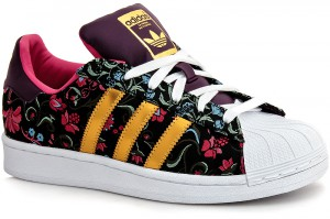 Кроссовки Adidas Superstar Russian Bloom B35441