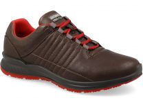 Mens sneakers low boots grisport 42811D12 (Brown)