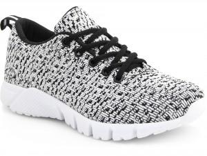 Sneakers Las Espadrillas Colored Knit 6401-13