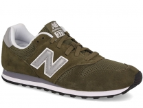 Мужские кроссовки New Balance ML373OLV   (зеленый)