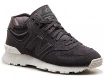 Sneakers New Balance WH574BB Black leather suede