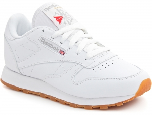 Buty Do Biegania Reebok Classic Leather 49803 White