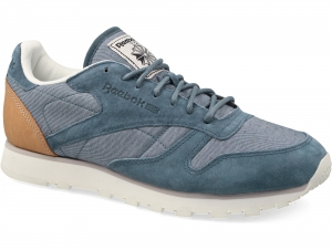 Кроссовки Reebok CL Leather Fleck Aq9722