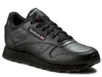 Кроссовки Reebok Classic Leather Int-black 3912
