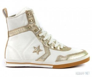 Sneakers women's Converse 508454 Bej, Gold