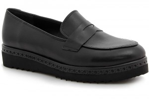 Women oxford shoes Las Espadrillas 02101-27 Made in Italy