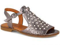 Жіночі сандалі Las Espadrillas 0378-61-64 (Сірий)
